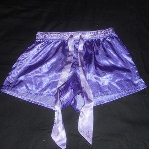 Justice Purple Sleep Shorts